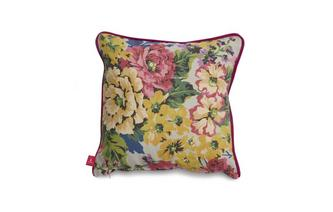 Floral-Cotton Small Scatter Cushion Floral Cotton
