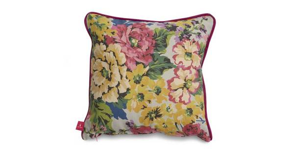 Joules Scatters Floral-Cotton Small Scatter Cushion