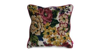Joules Scatters Floral-Velvet Small Scatter Cushion