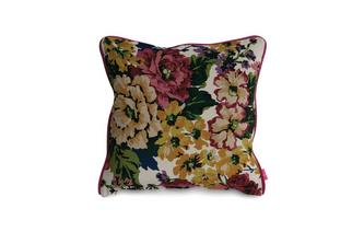 Floral-Velvet Small Scatter Cushion