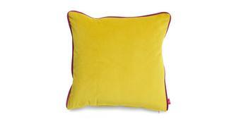 Joules Scatters Windsor-Velvet-Contrast Large Scatter Cushion