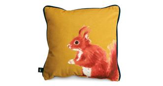 Joules Scatters Sidney-Squirrel Small Scatter Cushion