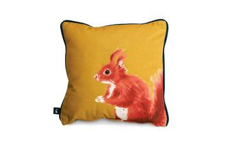 Sidney-Squirrel Small Scatter Cushion