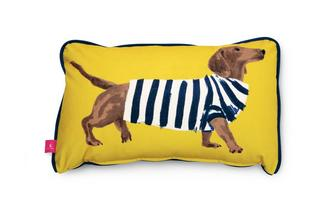 Sausage-Dog Bolster Cushion Sammy Sausage Dog