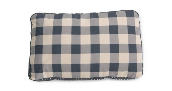Joules Scatters Gingham-Check Bolster Cushion
