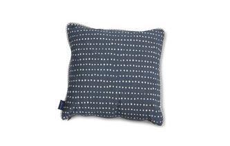 Dash-Peacoat-Spot Small Scatter Cushion Dash Peacoat Spot