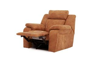 Manual Recliner Chair Saddle