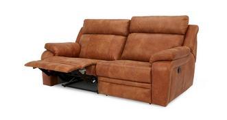 Journey 3-zitter handbediende recliner