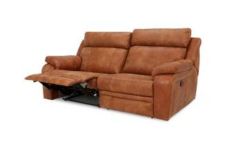 3 Seater Manual Recliner Saddle