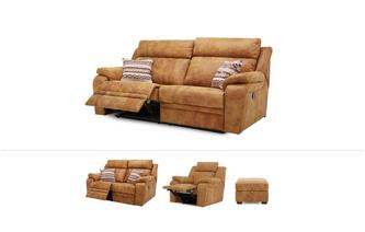 Journey Clearance 3 Seater, 2 Seater, Chair & Footstool Saddle