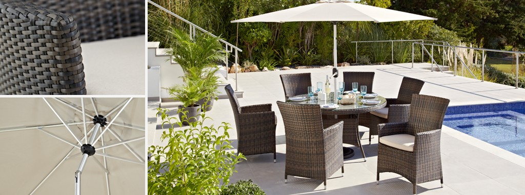 Prepossessing Juno  Seater Dining Set  Parasol Pu Rattan  Dfs With Fetching Juno With Captivating Saxton Gardens Also Garden Edges Ideas In Addition All You Can Eat Sushi Covent Garden And Tenerife Royal Gardens As Well As Garden Defense Additionally Cat Garden Deterrent From Dfscouk With   Fetching Juno  Seater Dining Set  Parasol Pu Rattan  Dfs With Captivating Juno And Prepossessing Saxton Gardens Also Garden Edges Ideas In Addition All You Can Eat Sushi Covent Garden From Dfscouk