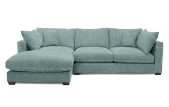 Left Hand Facing Small Chaise End Sofa