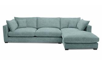 Right Hand Facing Large Chaise End Sofa