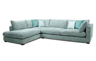 Right Hand Facing Arm Large Open End Corner Sofa
