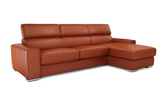 Kalamos Right Hand Facing 3 Seater Chaise Sofa Sierra Contrast
