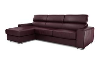 Kalamos Left Hand Facing 3 Seater Storage Chaise Sofabed Sierra Contrast
