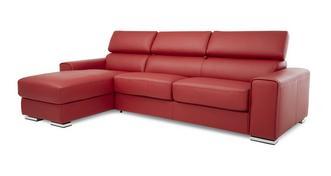 Kalamos Linkszijdige 3-zits Storage Chaise slaapbank