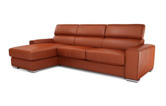 Kalamos Left Hand Facing 3 Seater Storage Chaise Sofa Sierra Contrast