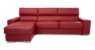 Kalamos 3-zitsbank met linkszijdig chaise longue met opbergruimte