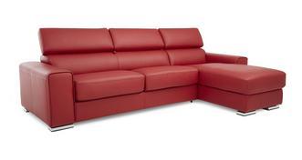 Kalamos Rechtszijdige 3-zits Storage Chaise slaapbank