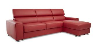 Kalamos Right Hand Facing 3 Seater Storage Chaise Sofabed