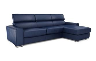 Kalamos Right Hand Facing 3 Seater Storage Chaise Sofa Sierra Contrast