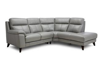 Option A Left Hand Facing 2 Piece Fixed Corner Sofa