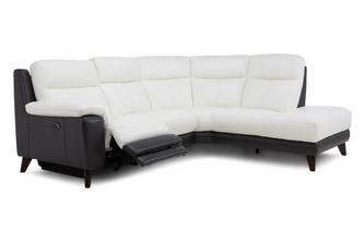 Option C Left Hand Facing 2 Piece Power Corner Sofa