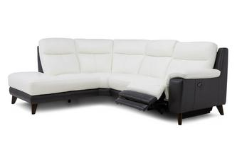 Option F Right Hand Facing 2 Piece Power Plus Corner Sofa