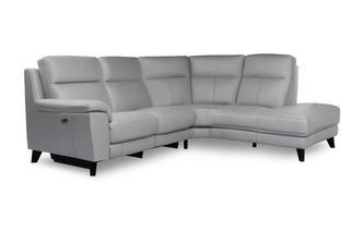 Option E Left Hand Facing 2 Piece Power Plus Corner Sofa