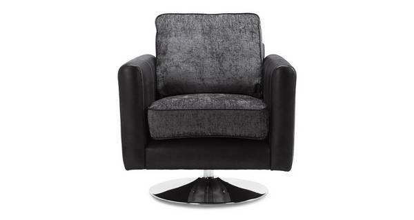 Kamilla Plain Small Swivel Chair
