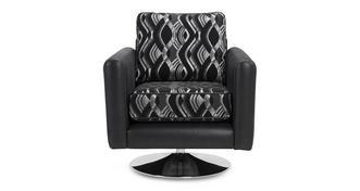 Kamilla Swirl Small Swivel Chair