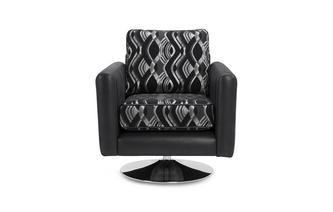 Swirl Small Swivel Chair Kamilla