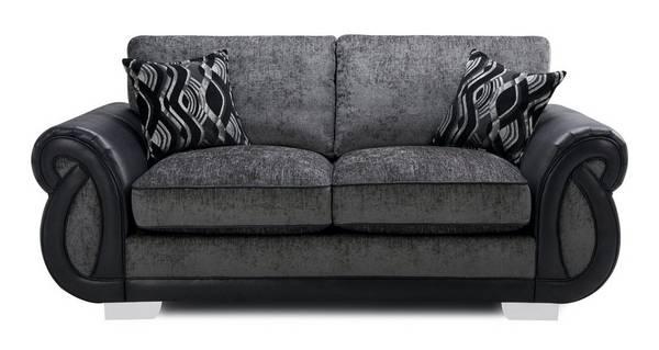 Kamilla Formal Back Large 2 Seater Sofa