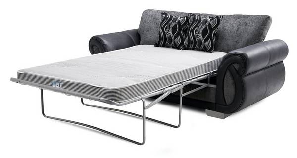 Kamilla Formal Back 2 Seater Deluxe Sofa Bed
