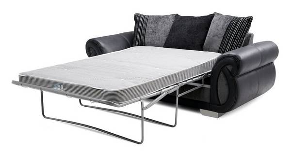Kamilla Pillow Back 2 Seater Deluxe Sofa Bed