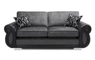 Formal Back 3 Seater Deluxe Sofa Bed Kamilla