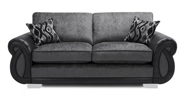 Kamilla Formal Back 3 Seater Deluxe Sofa Bed