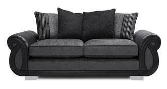 Kamilla Pillow Back 3 Seater Deluxe Sofa Bed