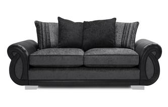 Pillow Back 3 Seater Deluxe Sofa Bed Kamilla