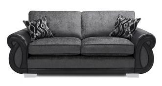 Kamilla Formal Back 3 Seater Supreme Sofa Bed