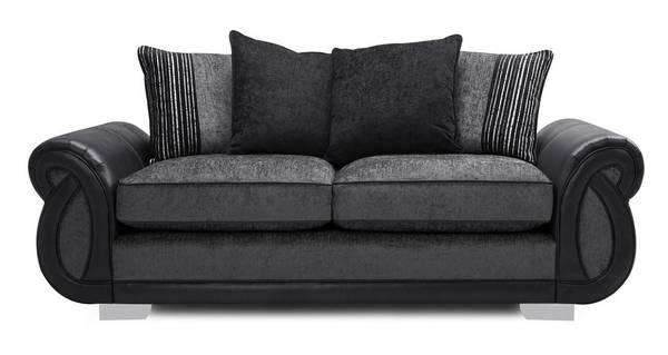 Kamilla Pillow Back 3 Seater Supreme Sofa Bed