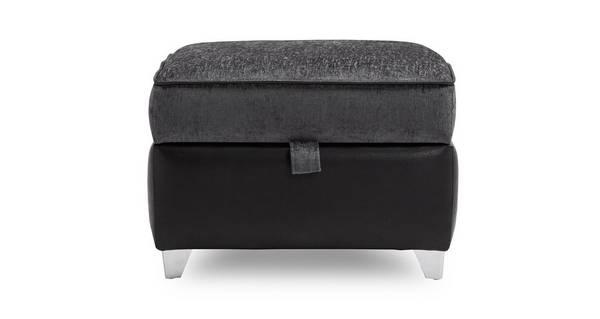 Kamilla Plain Top Storage Footstool