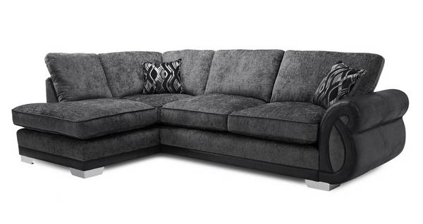 Kamilla Formal Back Right Hand Facing 3 Seater Open End Corner Sofa