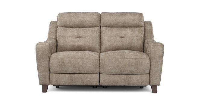 Outstanding Kansas Fabric 2 Seater Power Recliner Kansas Plain Dfs Uwap Interior Chair Design Uwaporg