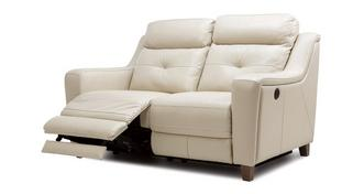 Kansas Leather 2 Seater Power Recliner