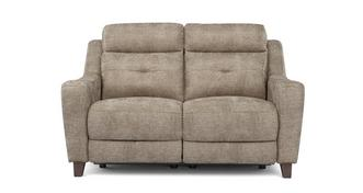 Kansas Fabric 2 Seater Power Plus Recliner