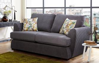 Karisma 2 Seater Deluxe Sofa Bed Sherbet