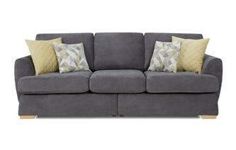 4 Seater Split Sofa Sherbet