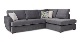 Karisma Left Arm Facing Open End Corner Sofa